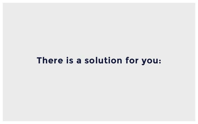 There is a solution for you: