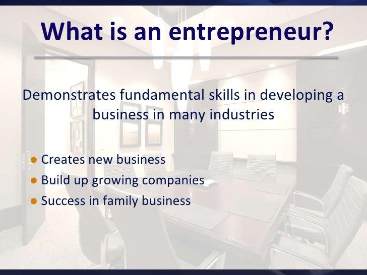 The Entrepreneur by Dimitri Uzunidis, Sophie Boutillier