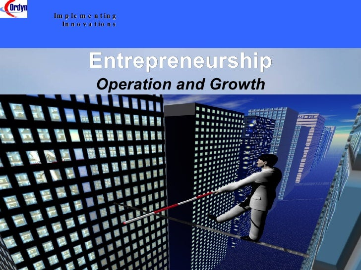 scope of entrepreneurship wikipedia