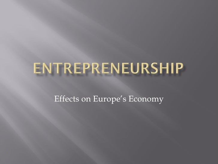 Effects on Europe's Economy
