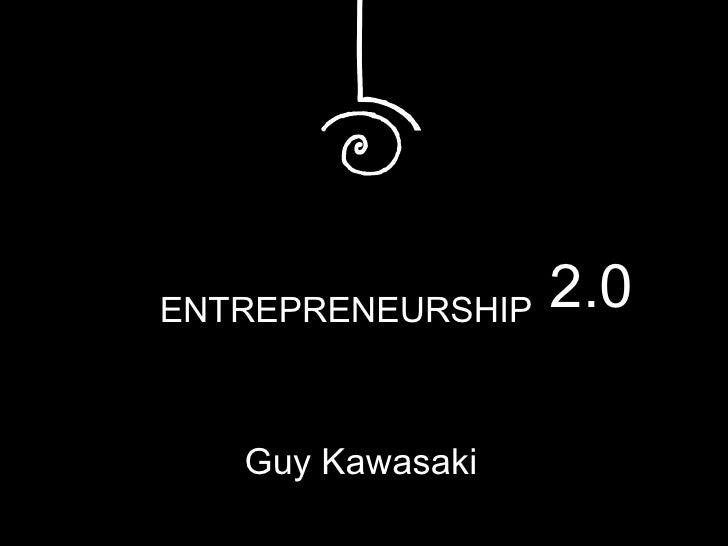 Entrepreneurship 2.0