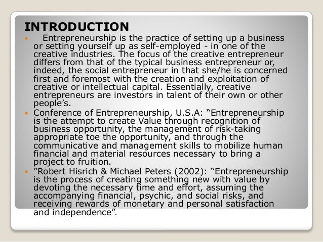 essays on entrepreneurship and economic development The first essay the impact of social networks on immigrants' employment  prospects:  the second essay the long-term effect of inequality on  entrepreneurship and job creation  three essays on economic development.