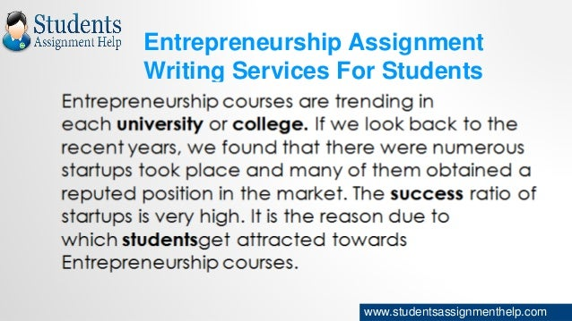 Assignment writing services tools