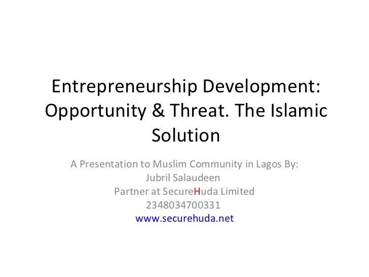 scope of entrepreneurship development The 2013 women's entrepreneurial venture scope index and report   development bank (idb) group, has created the women's entrepreneurial  venture.