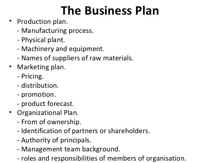 A Sample Chemical Manufacturing Plant Business Plan Template