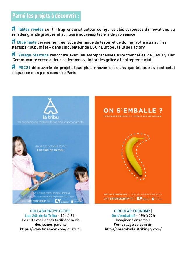 EntrepreneurSHIP Festival Communiqué de presse 22_10_15 Slide 2