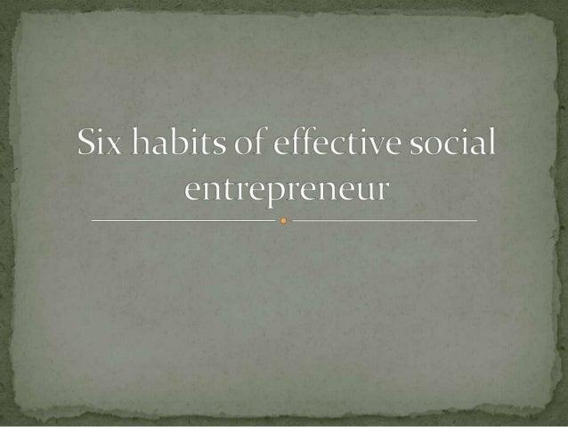  Social entrepreneurship is the activity of establishing  new business ventures to achieve social change. The business ut...