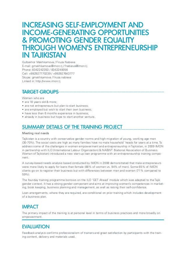 Entrepreneurship Experience In Resume Resume And Cover Letter