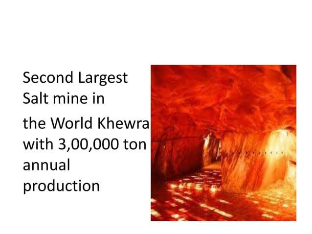 SALT RICH PAKISTAN Second Largest Salt mine in the World Khewra with 3,00,000 ton annual production