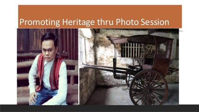 Promoting Heritage thru Photo Session