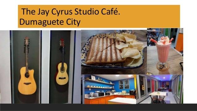 The Jay Cyrus Studio Café. Dumaguete City