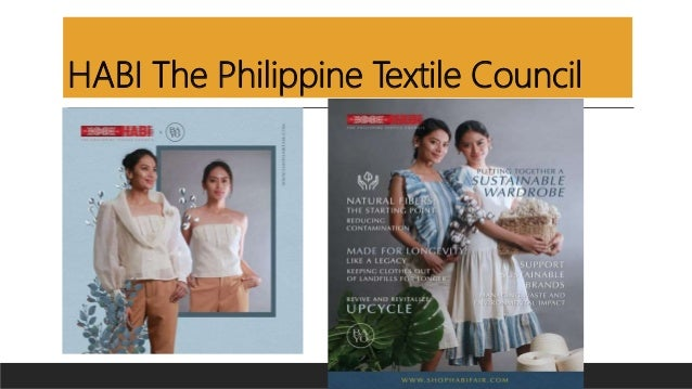 HABI The Philippine Textile Council