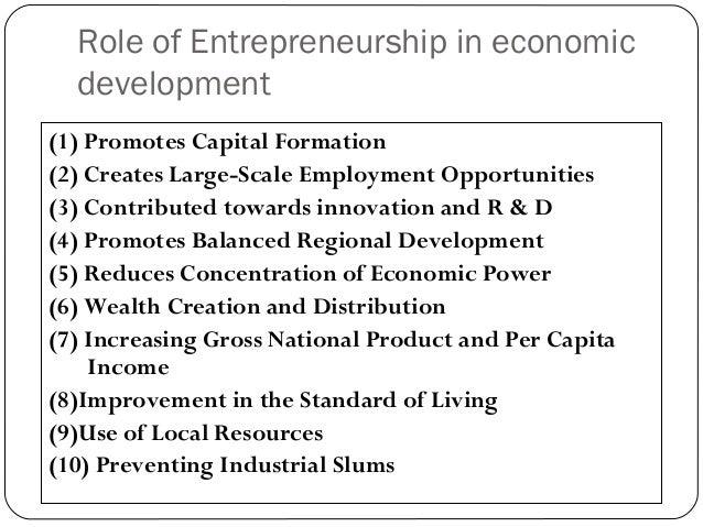 types of entrepreneurship and economic growth