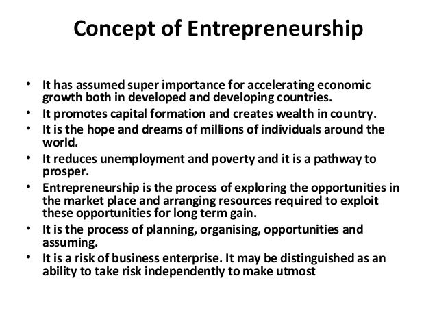 Entrepreneurship Lecture Notes Part 1