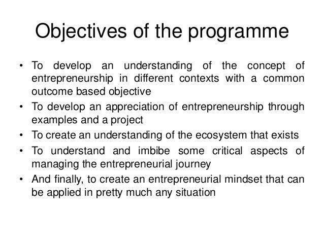 entrepreneur objective for resume