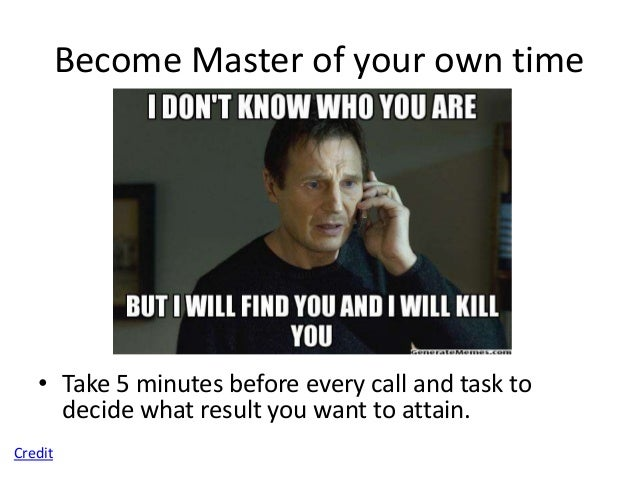 """Become Master of your own time   • Put up a """"Do not disturb"""" sign when you absolutely have to get     work done.Credit"""