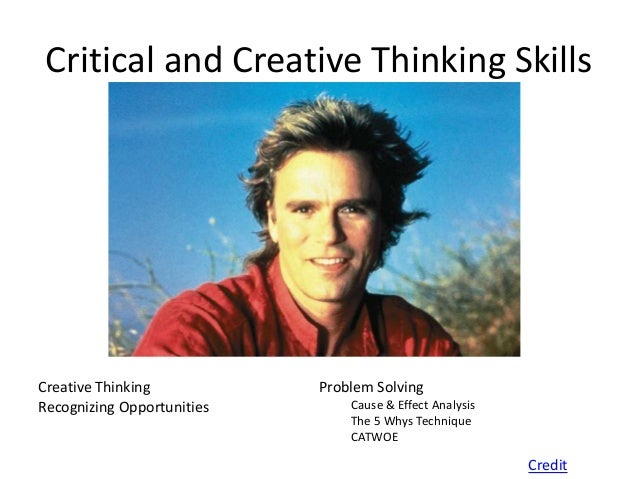 Critical Thinking Life Skills Year