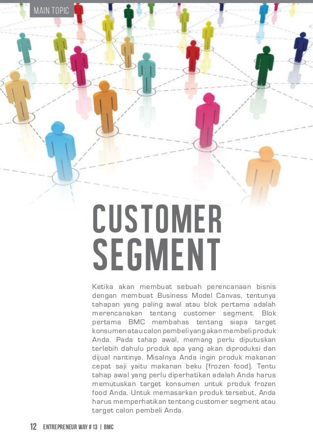 Entrepreneur Way #13 | BMC12 Main Topic Customer SegmentKetika akan membuat sebuah perencanaan bisnis dengan membuat Busin...