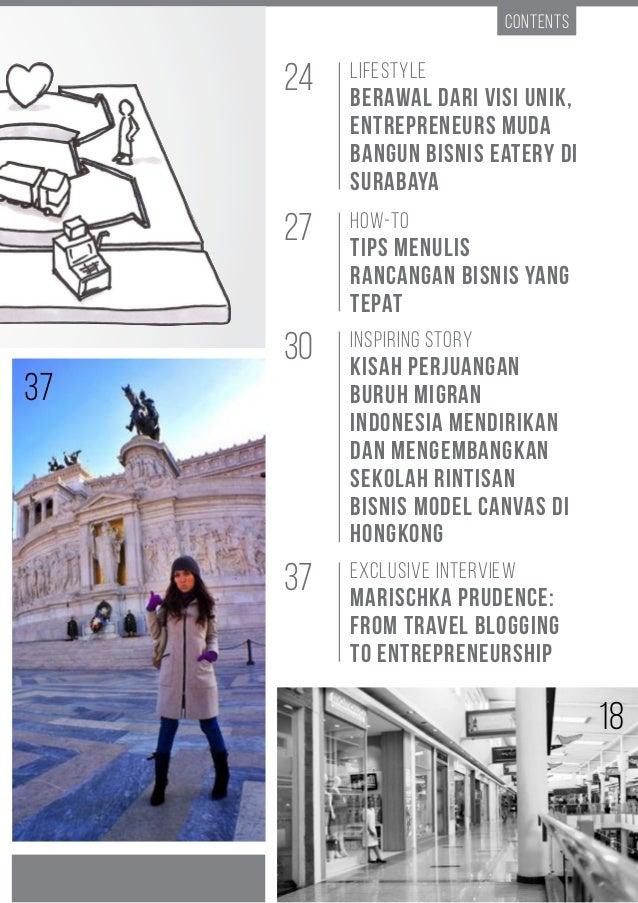 Entrepreneur Way #13 | BMC 7 Contents How-to Tips Menulis Rancangan Bisnis yang Tepat Lifestyle Berawal dari Visi Unik, En...