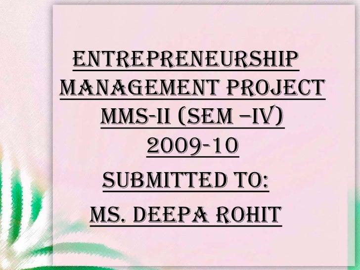Women Entreprenuer