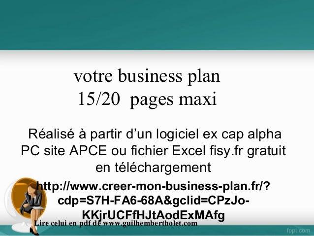 EBP Business Plan Création & Reprise Classic 2019