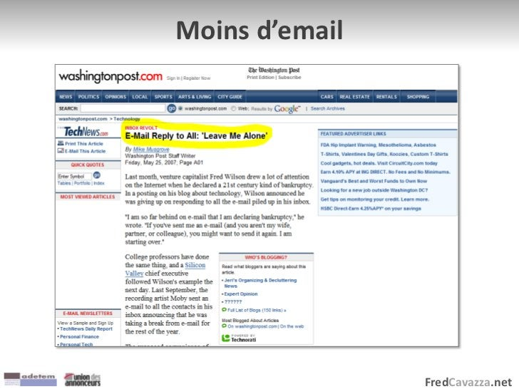 FredCavazza.net Moins d'email
