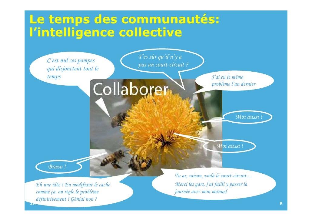 Le temps des communautés: l'intelligence collective                                         T'es sûr qu'il n'y a        C'...
