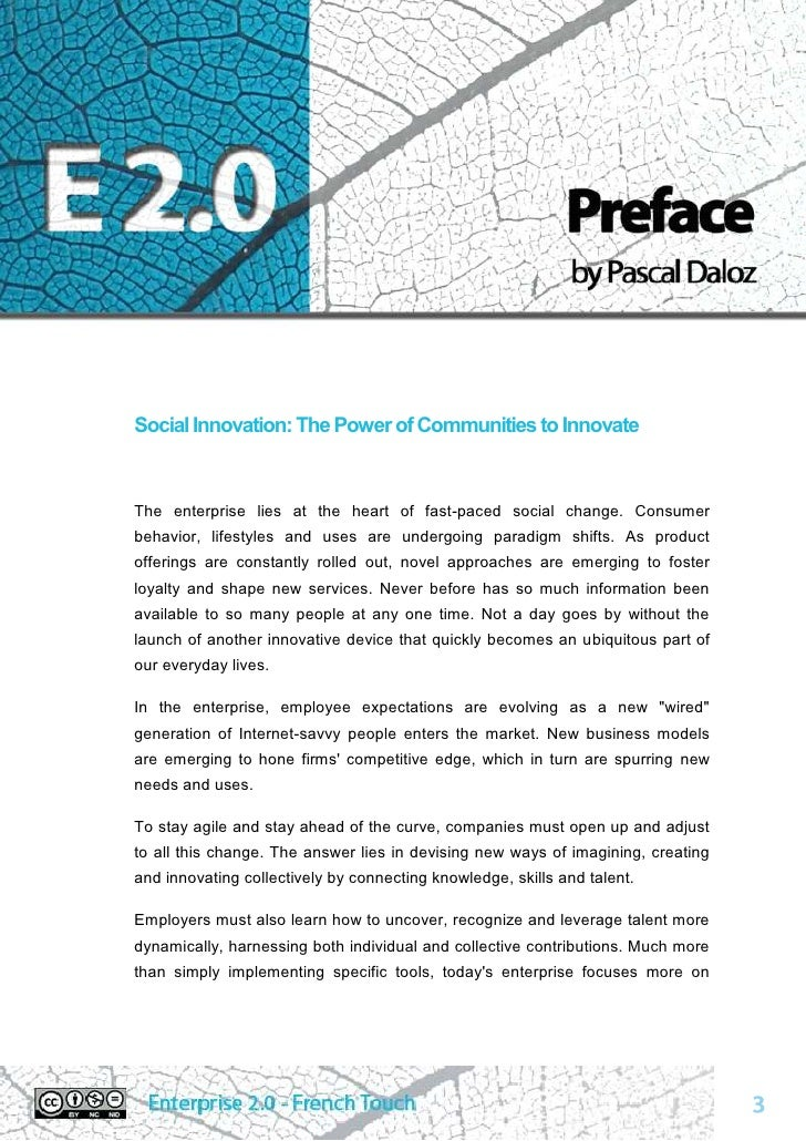 Enterprise 2.0, french touch : the white paper Slide 3