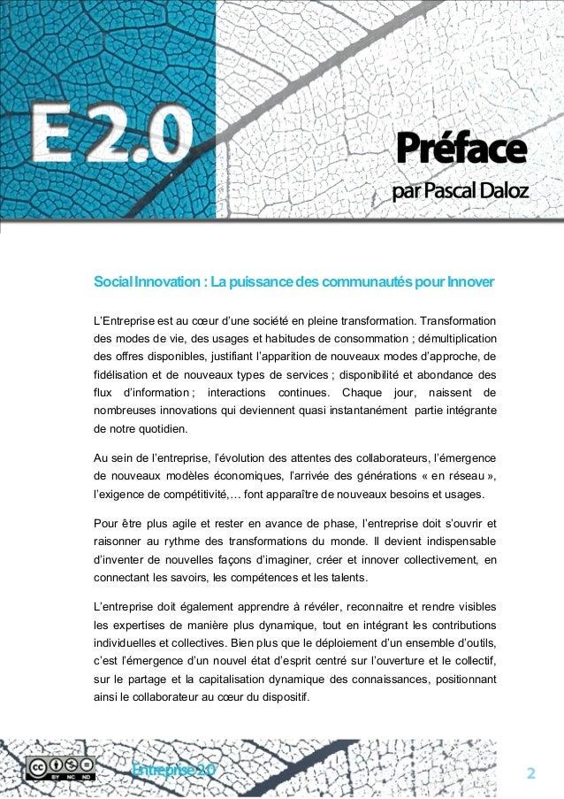 Livre blanc sur l'entreprise 2.0 Slide 2