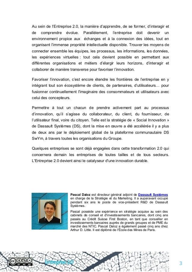Livre blanc sur l'entreprise 2.0 Slide 3