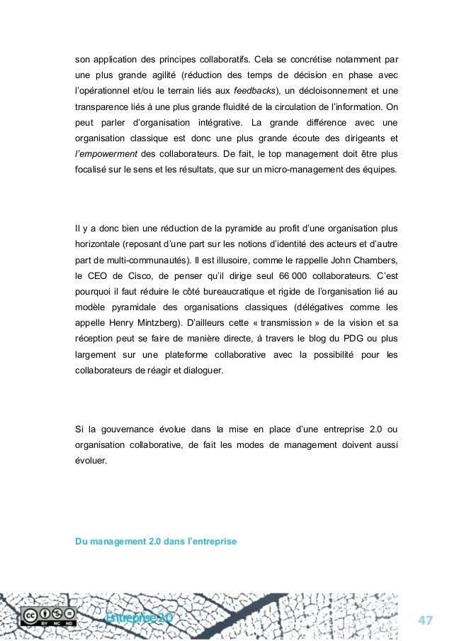 Livre blanc sur l'entreprise 2.0