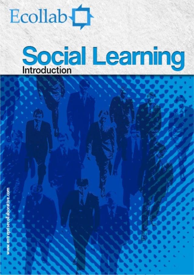 Cher lecteur, De mon côté, le Social Learning est le développement des savoirs, des aptitudes et attitudes, par la connexi...