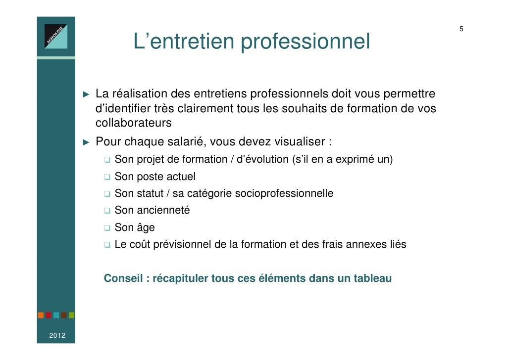 objectifs professionnels