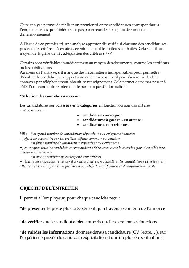 exemples de mod u00e8les  lettre de convocation a un entretien