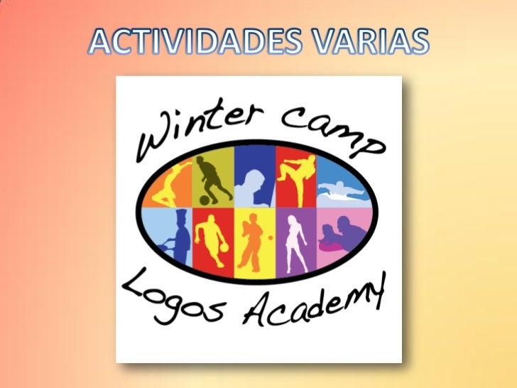 Entretenimientos varios - Winter Camp