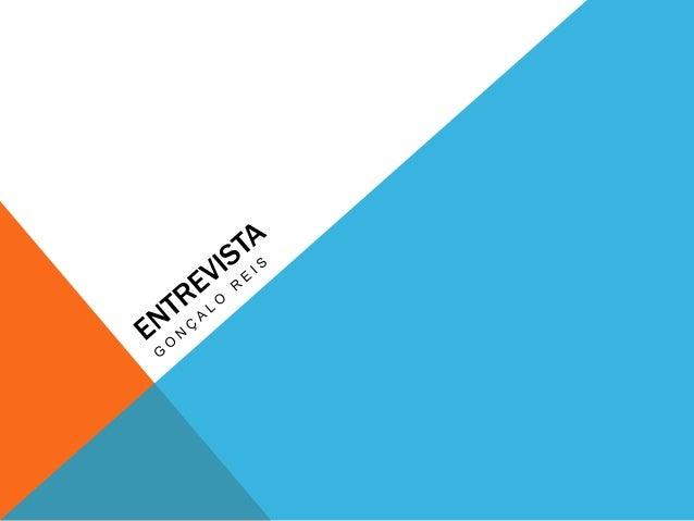 A ENTREVISTAA entrevista é um subgénero jornalístico de grande popularidade em todos   os meios de comunicação, pois cria ...