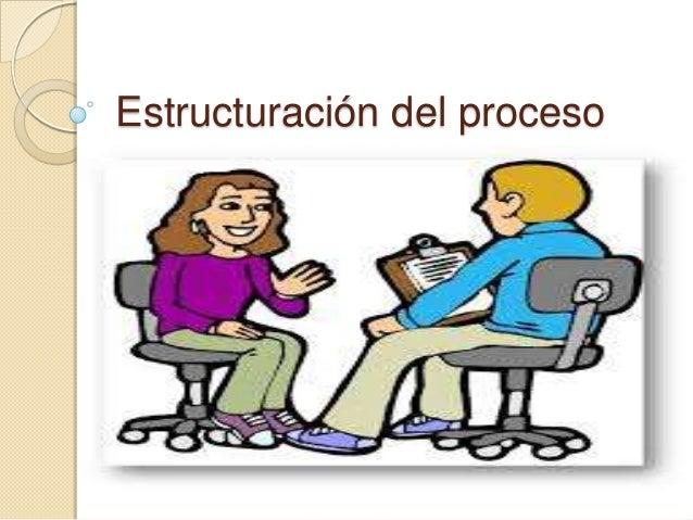 Estructuración del proceso