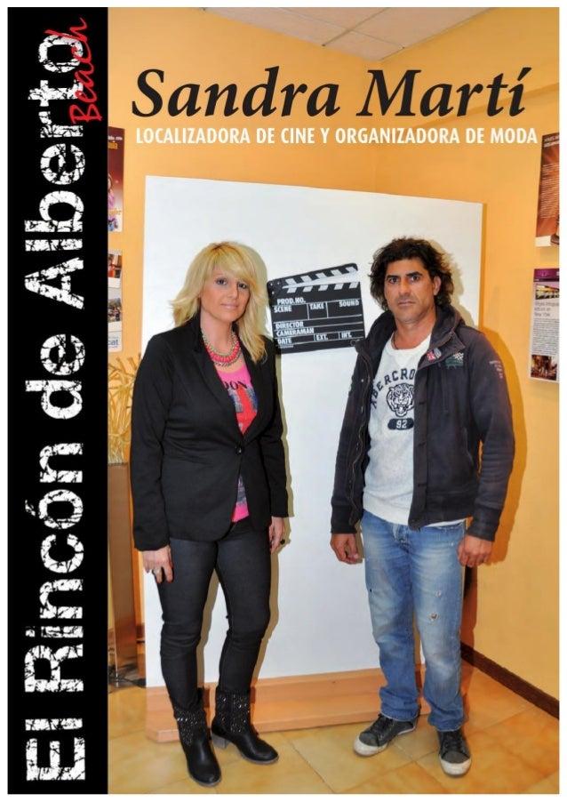 INFOGUIA Entrevista a Sandra Martí