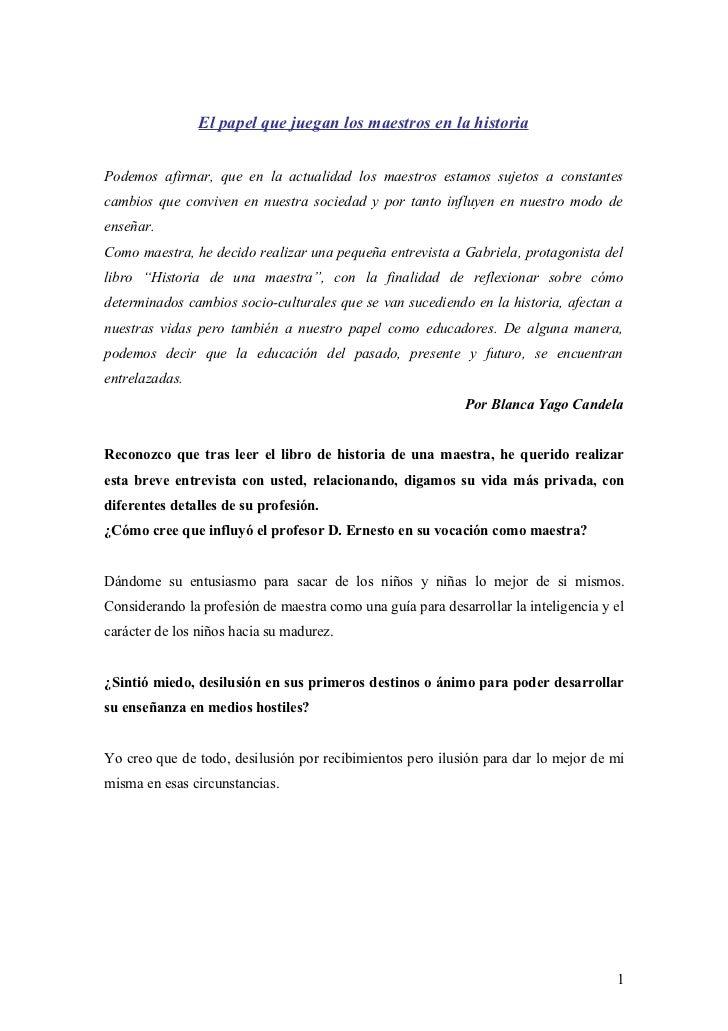Entrevista (1)