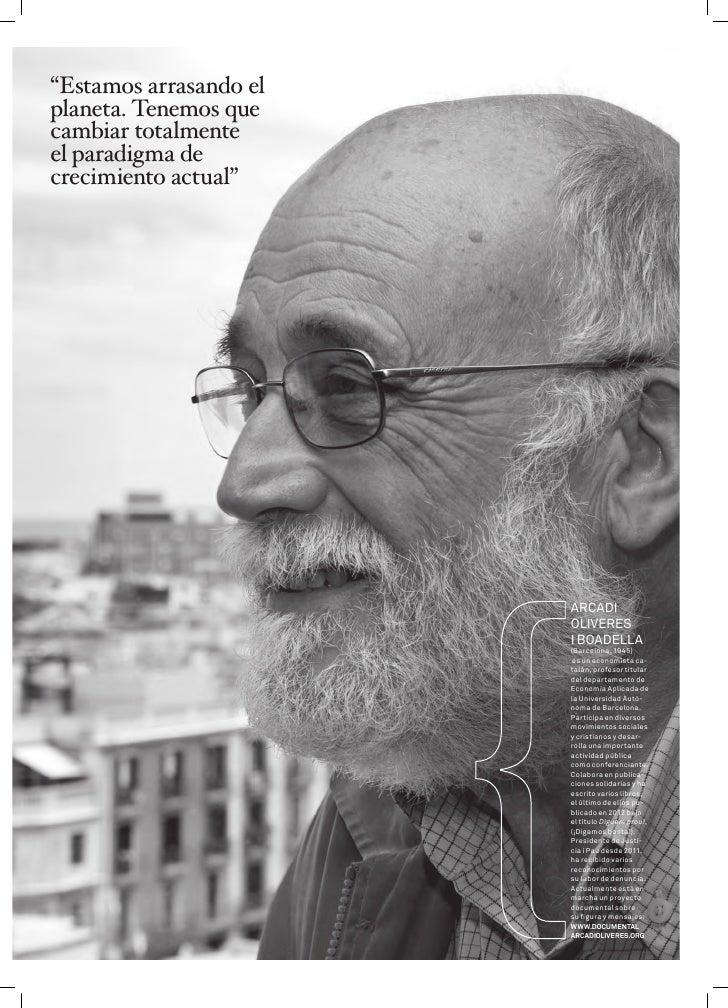Revista Triodos 27: Entrevista a Arcadi Oliveres Slide 2