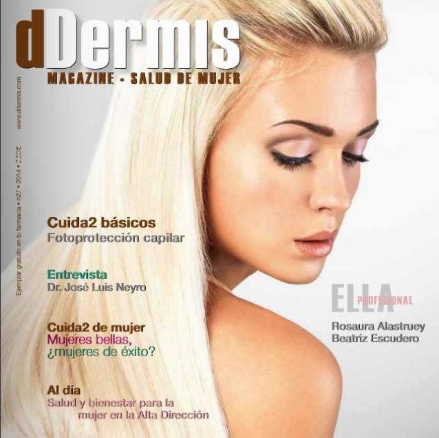 Entrevista a Beatriz Escudero, CEO de Pharmadus, en DDermis Magazine