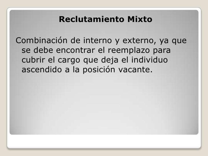 Entrevista De Reclutamiento Y Seleccion Compendio Para