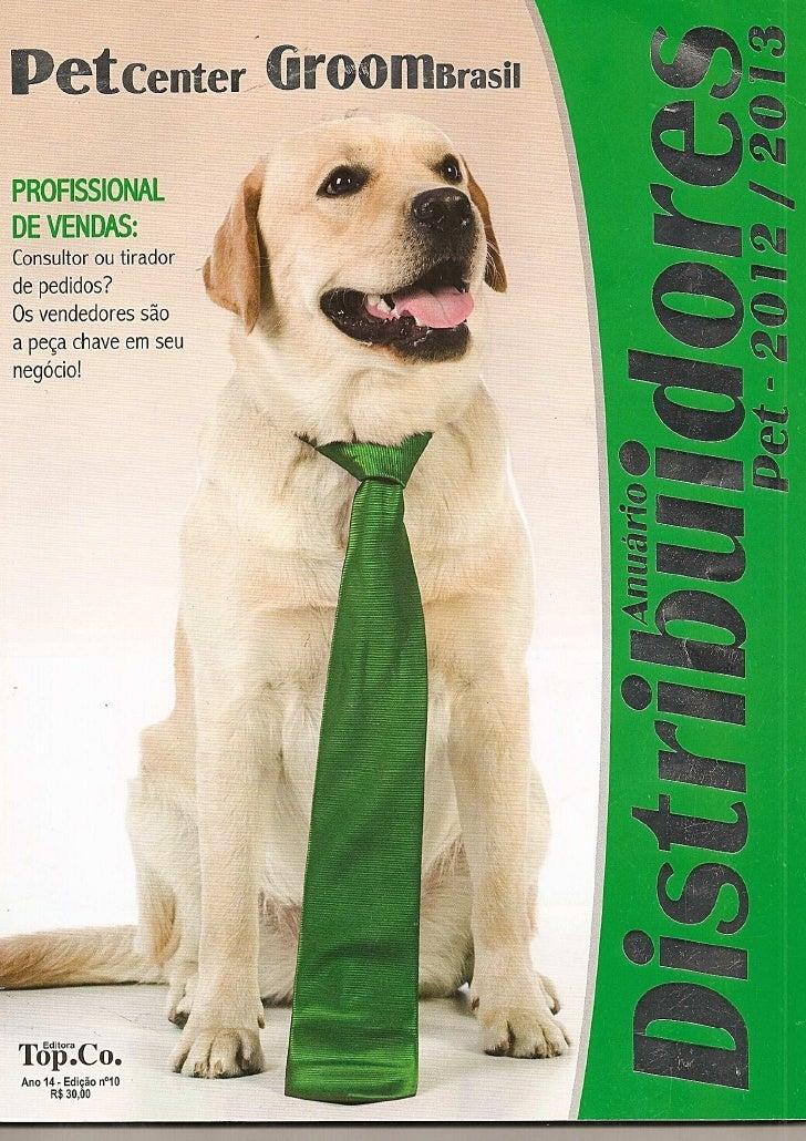 Anuário Distribuidores Pet 2012/2013