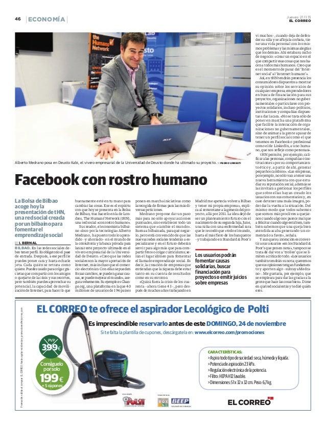 Entrevista El Correo (21-11-2013)