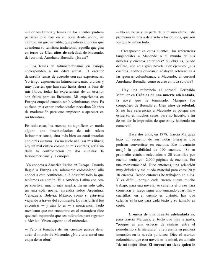 Entrevista García Marquéz Slide 2