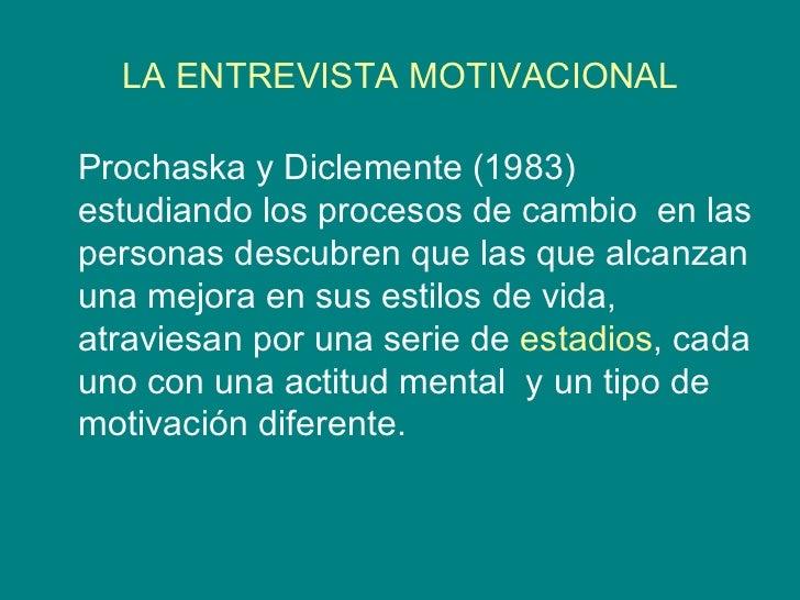 Entrevista Motivacional Mendoza