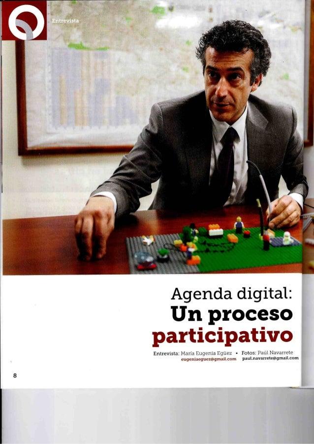 Entrevista Paco Prieto: Agenda Digital y Socialmente Innovadora de Quito
