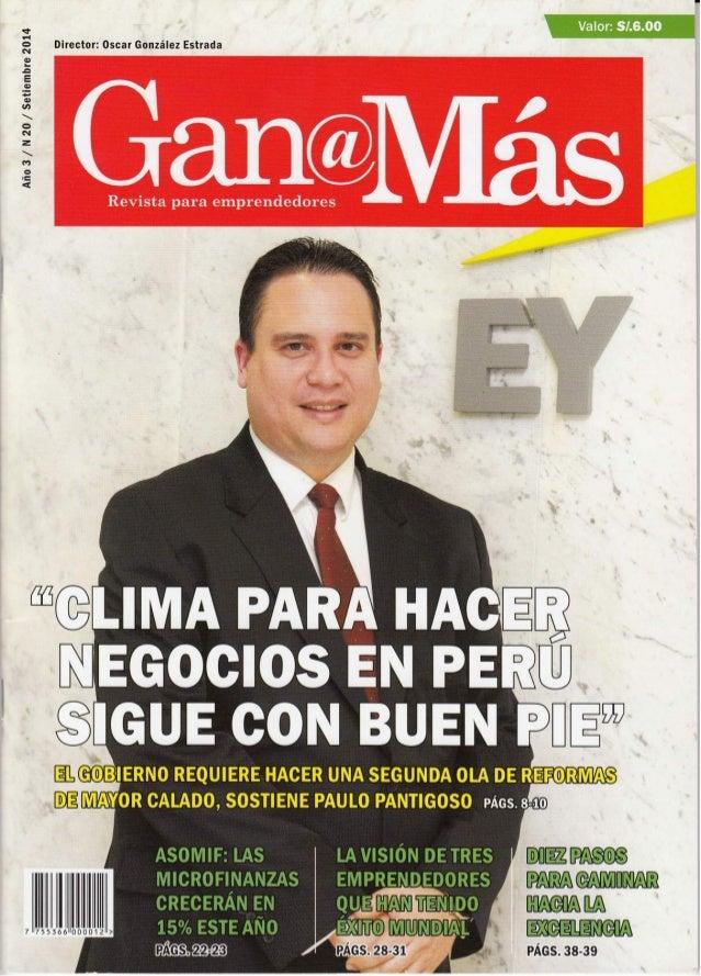 "'mm : a . :.. ›zc Dlrector:  Oscar González Estrada  Año 3 /  N 20 /  Setlembre 2014  É'›"". v-. ›v*'¡: w:_ gnuev_ uougwunr..."