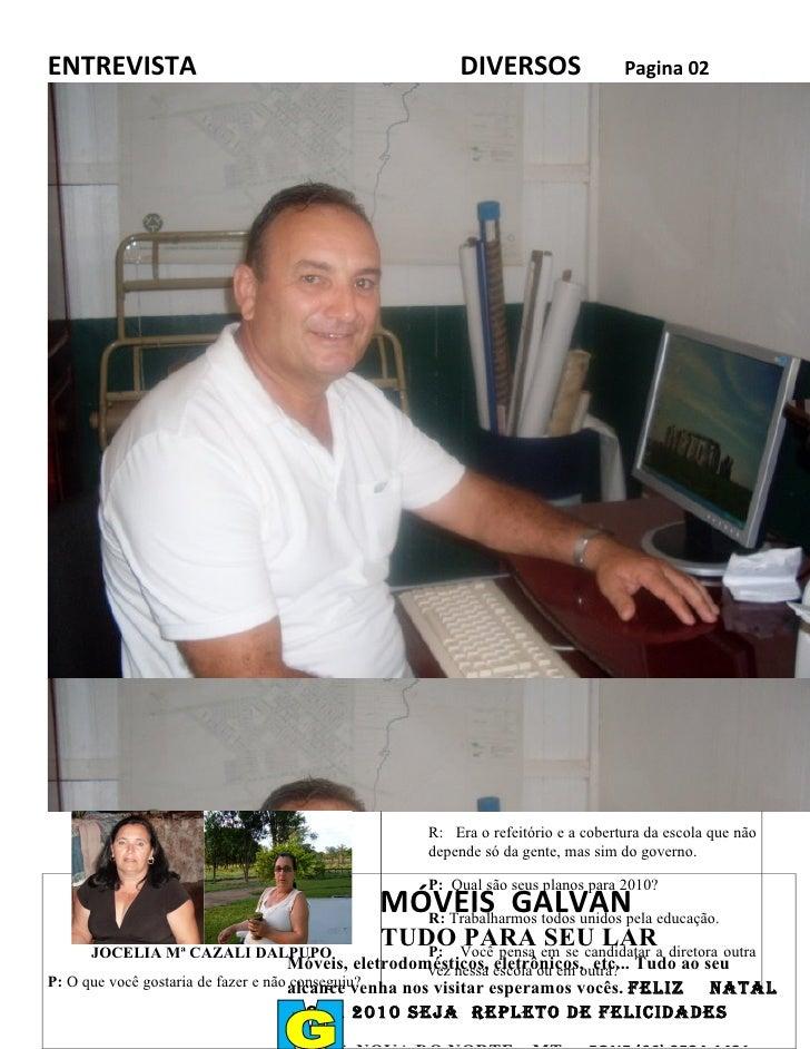 ENTREVISTA                                             DIVERSOS                  Pagina 02                                ...