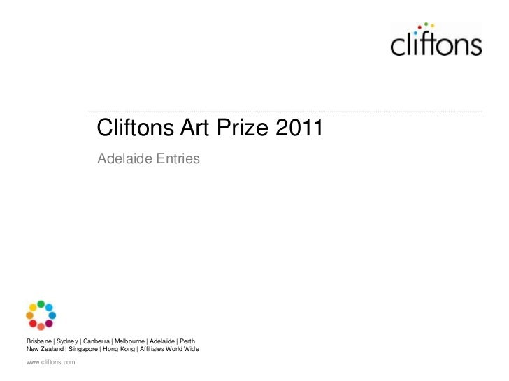 Cliftons Art Prize 2011<br />Adelaide Entries<br />